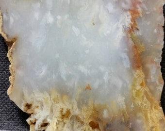 Flame agate slab, 2.2oz