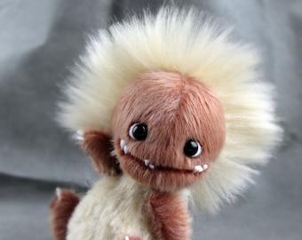 Toy Monster animals handmade artist bear OOAK