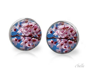 Earrings cherry blossoms 58