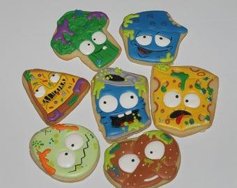 Grossery gang cookies  (12 cookies)