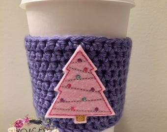 "RTS / The ""Pink Christmas Tree"" Cozy"