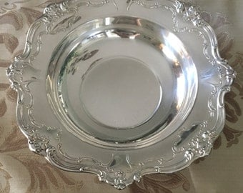 Gorham Chantilly Silverplate Bowl 10 3/4""