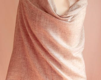 Organic Natural Unisex Pashmina/Gift for her/Gift for him/ Free Shipping/Limited Offer