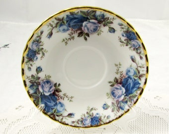 Royal Albert Orphan Saucer, Moonlight Rose, Replacement Saucer, Saucer ONLY, No Tea Cup