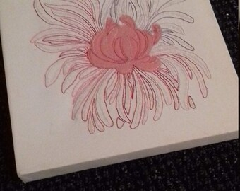 Hand stitched art work