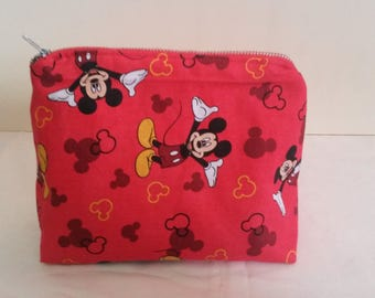 Mickey Mouse Makeup/Toiletry Bag