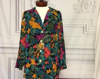 CAROLE LITTLE Petites german rayon jacket