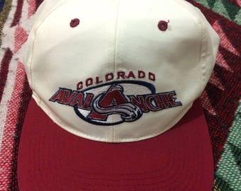 Slighty Used NHL Colorado Avalanche Snapback