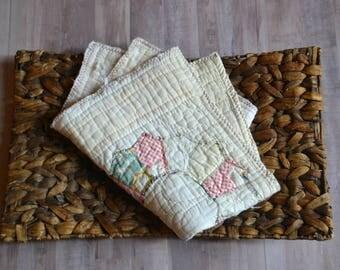 Vintage Quilt Layer-Newborn Photo Prop-READY TO SHIP