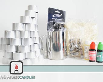 Beginners Tea Light Candle Making Kit