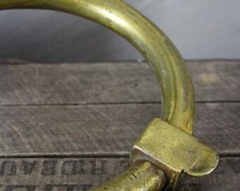 Huge Brass Ring Knocker