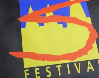 Three Spires Festival Vintage Poster