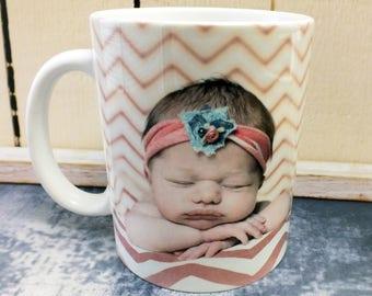 Mothers Day gift for Grandma, Photo Mugs, Custom Mugs, Personalized Mug, Picture Mugs, New Mom Gifts, Gifts for Mom, Coffee Mug, Mothers Day