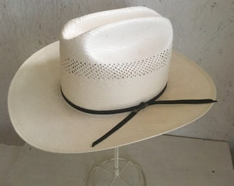 Stetson Straw Cowboy Hat . National Park Service Hat . NEW Size 6 3/4 Extra Small