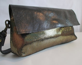 Bag midnight, leather pouch