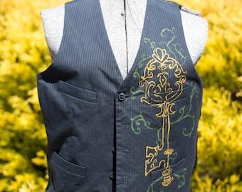 Upcycled Mens Vest