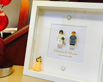 Disney Wedding Gift - Lego Frame with Disney character