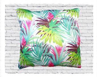 Tropical Palm Cushion