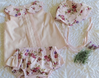 Spring Blooms Baby Bonnets