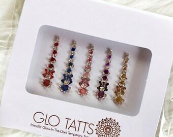 GLO Bindi Colourful Crystal Face Gems