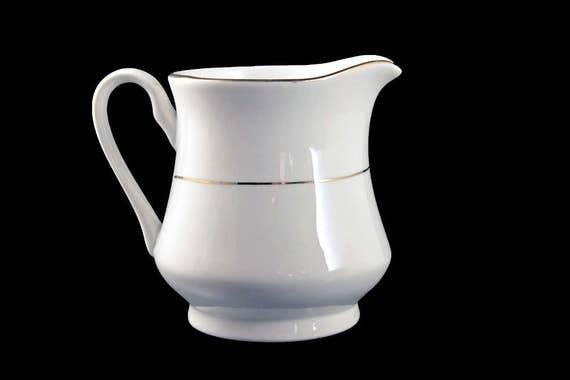 Creamer, Potter & Smith, White and Gold, Fine China