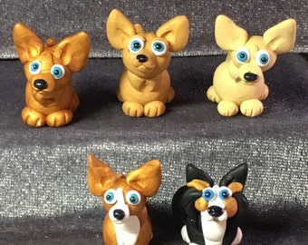 Chihuahua miniatures! Your choice of color and style