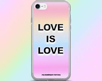 Love Is Love LGBT iPhone 7 Case, iPhone 7/7plus, iPhone 6/6 Plus, iPhone 5