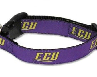 ECU East Carolina Dog Collar