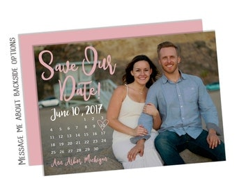 Custom Save The Date (FREE SHIPPING)