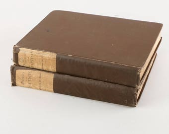 """1890 RARE  Limited De Luxe Edition """"A History of the Baptists"""""""