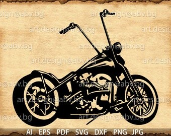 Vector MOTORCYCLE, ai, eps, pdf, PNG, svg, dxf, jpg Dounload, graphical, discount coupons