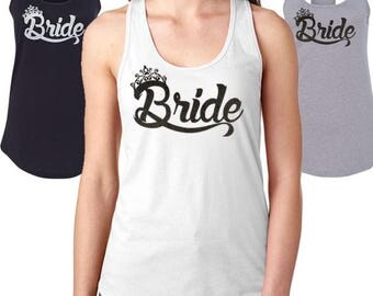 Bridal Party Shirts Bridesmaid Bachelorette Tees Bride