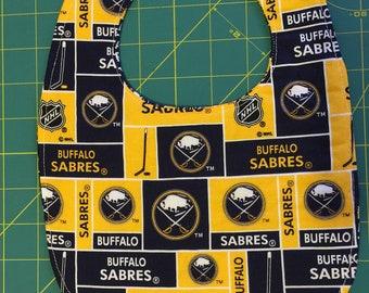 Baby Bib Buffalo Sabers Oval Shape