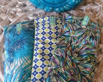 Soothing Lavender Eye Pillows - Blues