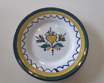 HUNGARY HEART PLATE Signed Kinga Szabo