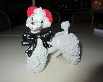 MID CENTURY POODLE Figurine