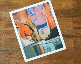 Santa Elena Canyon Print | Big Bend Series