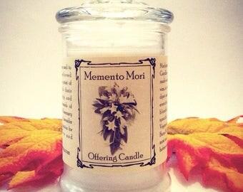 Momento Mori Offering Ancestor Memorial Candle