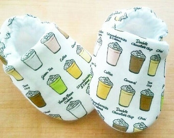 Frappuccino Coffee Inspired Baby/Kid Shoes