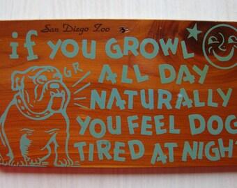 The Original Ceda-Card/3-Cent Souvenir Wood Postcard From San Diego Zoo