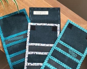 Pocket memory camera _ blue cards