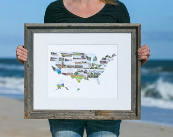 united states map - usa wall map - watercolor map poster - map wall art us - watercolor map print - unique map gifts - map watercolor