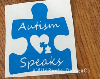 Autism Speaks Decal