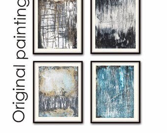 painting original painting abstract painting 4 paintings by jolina anthony