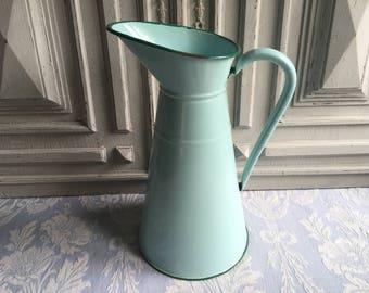 vase bleu turquoise etsy. Black Bedroom Furniture Sets. Home Design Ideas