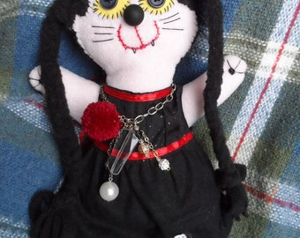 Vampire cat Girl