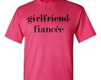 Fiance Shirt - Girlfriend Shirt - Engaged Shirt - I Said Yes - Bride Shirt - Soon To Be Mrs - Just Married - Bride To Be