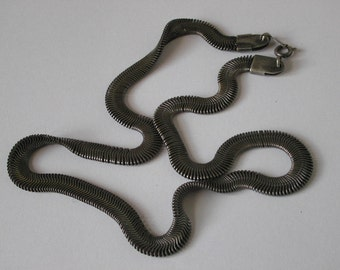 Snake necklace, snake chain, Snake jewelry, Indian Necklace, Free shipping