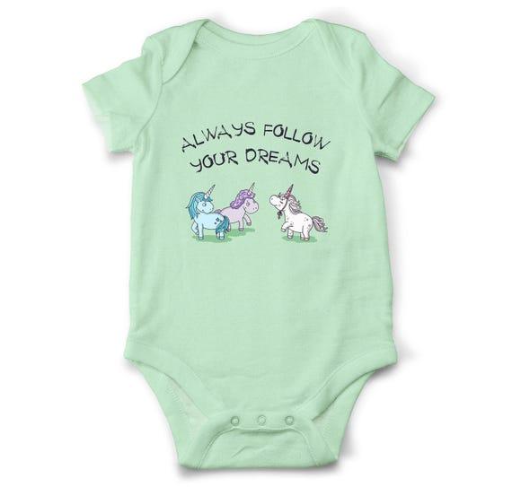 Unicorn Baby Bodysuit Funny Baby Bodysuit Unique Baby Shower Gift
