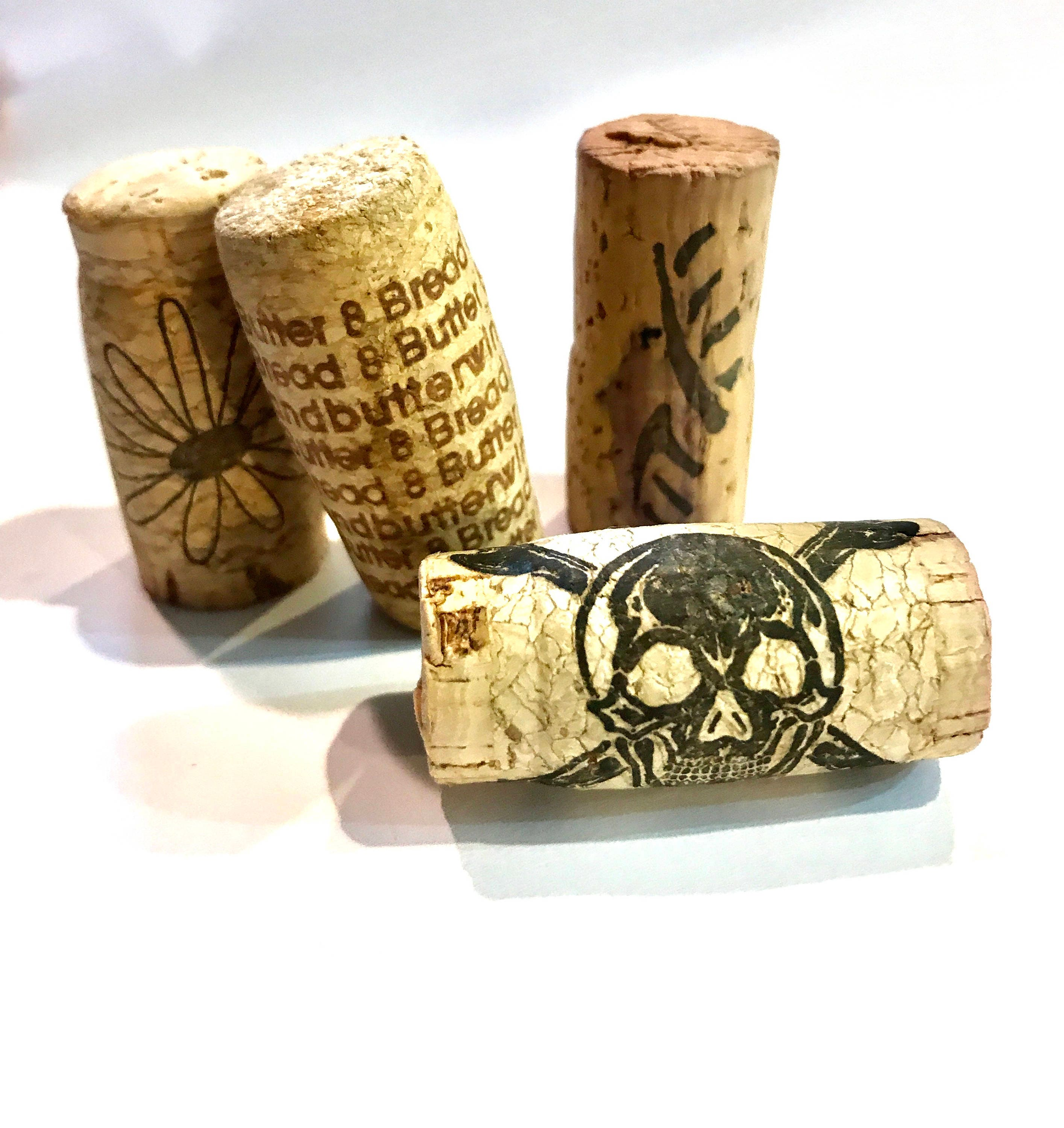 Used wine corks for crafts -  1 50